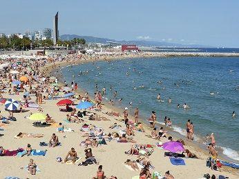 バルセロナ ビーチ
