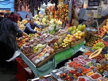 バルセロナ 市場