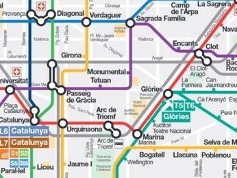 バルセロナ 地下鉄
