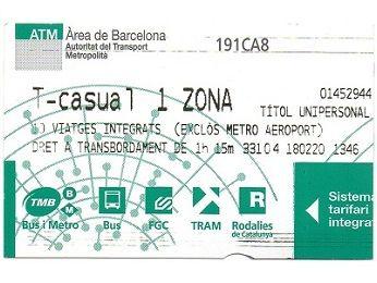 地下鉄 チケット