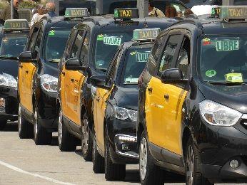 バルセロナ タクシー