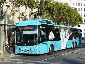 バルセロナ 空港シャトルバス