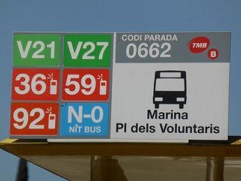 バルセロナ 市バス