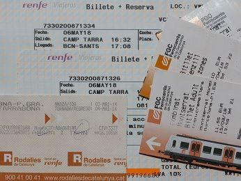 バルセロナ 交通費