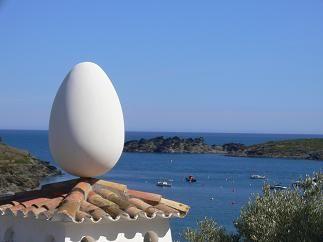 サルバドール・ダリ 卵の家