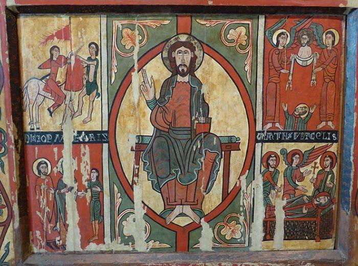 ロマネスク 祭壇前飾り